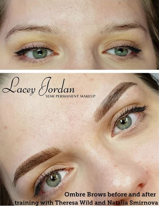 Ombre Brows - Eyebrow Tattooing
